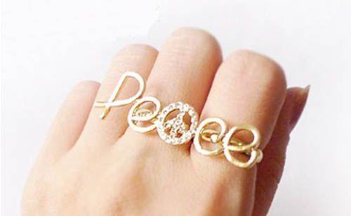 Anel Peace