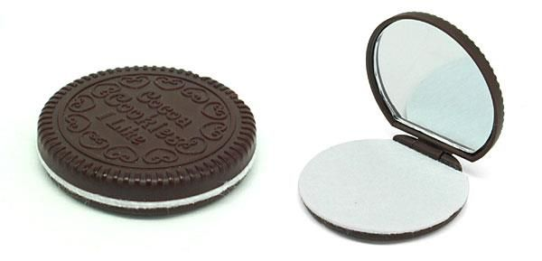 Espelho Formato Biscoito - Frete Grátis