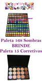 Paleta 168 Sombras + Brinde - Frete Grátis
